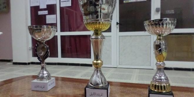 المباراة النهائية للدورة الرمضانية لكرة اليد المغير 2014