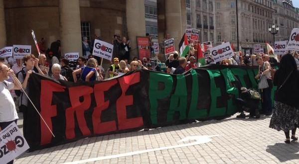 بالصور مظاهرات حاشدة في لندن دعما لـ غزة